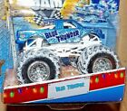BLUE THUNDER HOT WHEELS MONSTER JAM DIECAST 164 TRUCK HOLIDAY EDITION 2013