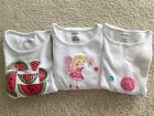 Lot of 3 Gymboree Tops Size 5 Watermelon Picnic Fairy Wishes Ice Cream Sweetie