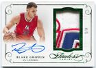 15 Panini Flawless Blake Griffin Autograph Emerald 3 Color Logo Patch Auto # 5