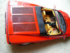 Pocher 1/8 Ferrari Testarossa Spider Rear Metal Hood Grille NEW