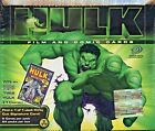 HULK FILM & COMIC CARDS BOX OF 24 PACKETS BY UPPER DECK