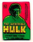 1979 Topps Incredible Hulk Trading Card Pack