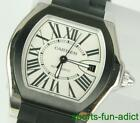 CARTIER Roadster Automatic Date Stainless Steel Wristwatch 3312