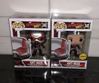 Funko Pop! ANT-MAN & The WASP ANT-MAN #340 CHASE BUNDLE Soft Protector