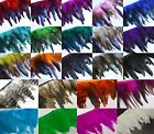 YrDyed Natural Rooster Hen Hackle Feather Fringe Craft trim EarRing Fascinator