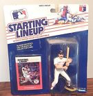 Starting Lineup New 1988 Wade Boggs Boston Red Sox Figurine and Card