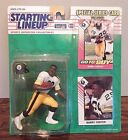 Starting Lineup 1993 NFL Barry Foster Pittsburgh Steelers figurine and card