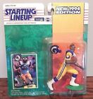 Starting Lineup 1994 NFL Jerome Bettis St Louis Rams figurine and card