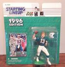Starting Lineup 1996 NFL Dan Marino Miami Dolphins figurine and card