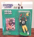 Starting Lineup 1996 NFL Robert Brooks Green Bay Packers figurine and card