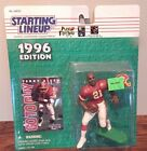 Starting Lineup 1996 NFL Terry Allen Washington Redskins figurine and card