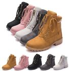 Womens Antiskid Martin Boots Work Boots Lace Up Sneakers Outdoor Shoes Fashion