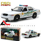 GREENLIGHT 13514 118 2003 CROWN VICTORIA POLICE INTERCEPTOR CSI MIAMI