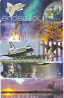 5 NASA SPACE SHUTTLE ENDEAVOUR ATLANTIS CHALLENGER COLUMBIA DISCOVERY BOOKMARKS