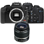 Canon Rebel XS Black EOS SLR Camera with EF S 18 55mm f 35 56 IS II Lens