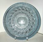 Blue Federal Glass Windsor Plate Platter Server 11