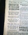 First and Last Babe Ruth Yankees Contracts Heading to Auction Block 19