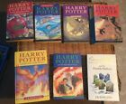 HARRY POTTER BOOKS 7 BOOK BLOOMSBURY SET MIXED 1st EDITIONS GOOD READING SET