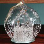 The Holiday Aisle Light Up Glass Nativity Ornament