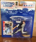 1997 Steve Finley San Diego Padres Rookie Starting Lineup in pkg w/ BB Card