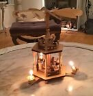 Vintage Original German Erzgebirge Expertic Christmas Revolving Nativity Pyramid