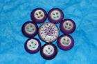 INKWELL CHINA PORCELAIN GLASS BUTTON LOT
