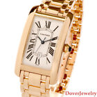 Cartier American Tank Automatic Large 18K Gold 44mm Men's Watch NR $23,600.00