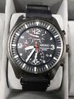 MENS SEIKO CHRONOGRAPH 100M,7T92-0JS0,PRISTINE WORKING ORDER RED HANDS 130017