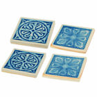 Darby Home Co Belen 4 Piece Coaster Set Set of 4