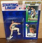1993 Jeff Bagwell Houston Astros Rookie Starting Lineup in pkg w/ 2 BB Cards