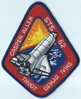 NASA SPACE SHUTTLE STS 62 MISSION PATCH