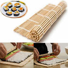 Sushi Roll Mat Maker Kit Rice Roller Bamboo Mold Mould Kitchen DIY Set w Spoon
