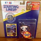 1991 Vince Coleman New York Mets Ext. Starting Lineup in pkg w/ BB Card