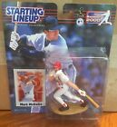 2000 Mark McGwire Saint Louis Cardinals Starting Lineup in pkg w/ Baseball Card