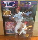 2000 Mark McGwire St Louis Cardinal 500 Homers Starting Lineup in pkg w/ BB Card