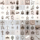 Tibet Silver Charm Spacer Pendant Findings Choose your Plated Jewelry favorite