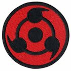 Anime Sharingan Mark Logo Embroidered Iron On Patch