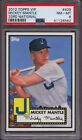 2012 Topps VIP 409 Mickey Mantle 33rd National PSA 8 NM - Mint