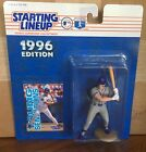 1996 Rico Brogna New York Mets Rookie Starting Lineup in pkg w/ Baseball Card