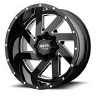 20 Inch Black Wheels Rims Chevy 5 Lug Truck LIFTED Jeep Wrangler JK MO988 20x12