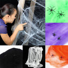 Stretchy Spider Web Cobweb Prop Home Bar Party Decoration for Halloween