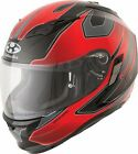 Kabuto Kamui Motorcucle Helmet - Stinger With Inner Sun Shield Red