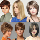 Women's Short Hair Full Wig Heat Resistant Curly Synthetic Bob Wigs Cosplay Lot