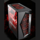 Onchoice ATX Mid Tower Computer Gaming PC Case 8 Fan Ports USB 30