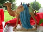 Nativity Ceramic Camel Figure Figurine Holland Mold Vintage Christmas Decoration