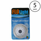 LED Above Ground Swimming Pool Flo Light Wireless Universal FloLight 5 Pack