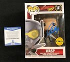 Evangeline Lilly Signed Wasp Chase Funko Pop Figure Ant-Man Beckett COA
