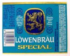 Miller Brewing Co LOWENBRAU SPECIAL beer label WI 7oz #808547 Under License