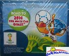 2014 Panini FIFA Road to the World Cup Brazil 50 Pack Factory Sealed Sticker Box