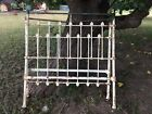 Antique  vintage Victorian Style Twin Brass and Iron Bed Frame  No Rails